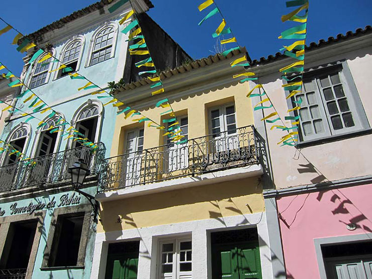 Salvador's Ladeira do Carmo; Caymmi house