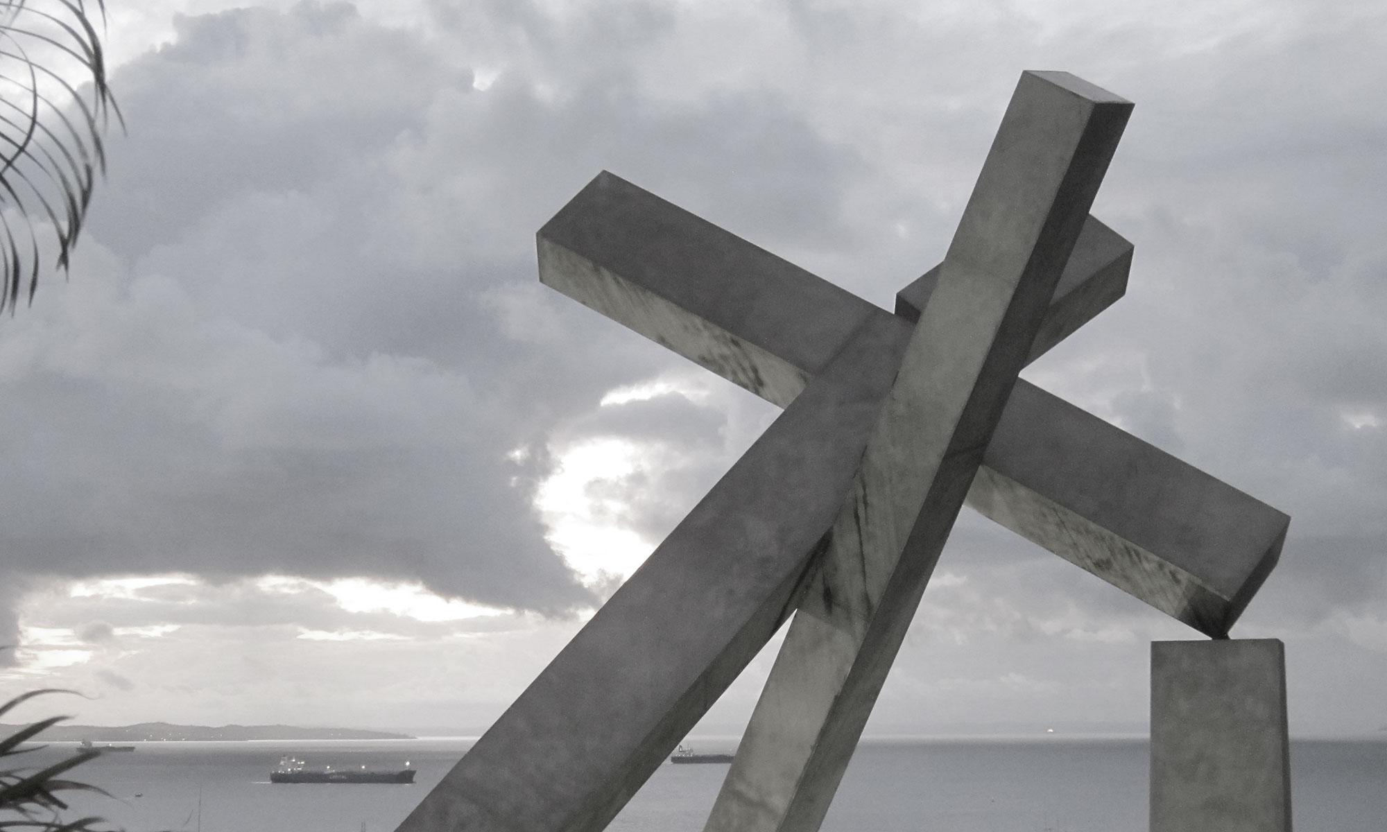 Cruz Caida in Salvador's Centro Histórico