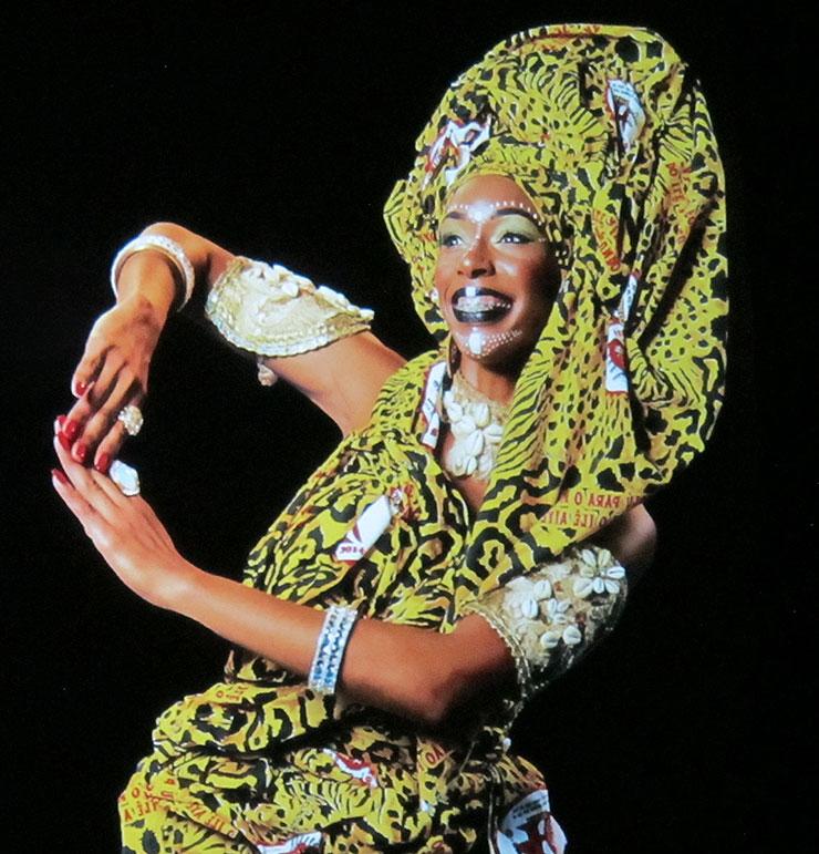 Carnival Dancer Ilê Aiyê