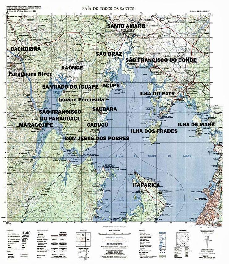 Bay of All Saints, Salvador, Bahia