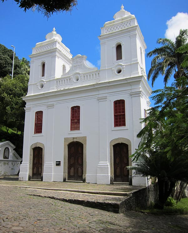 Church on the grounds of the Solar do Unhão in Salvador, Bahia