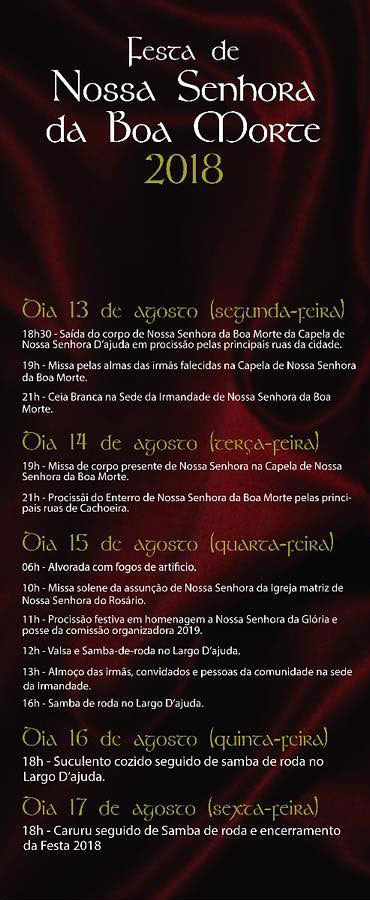 Festa da Boa Morte in Cachoeira, Bahia, Brazil
