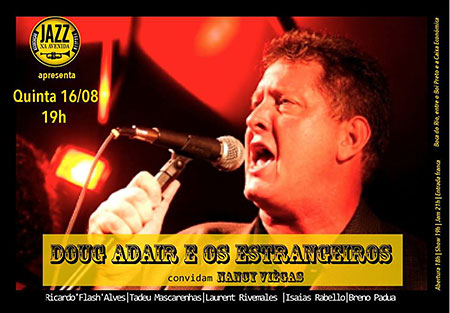 Doug Adair & Os Estrangeiros in Salvador, Bahia, Brazil