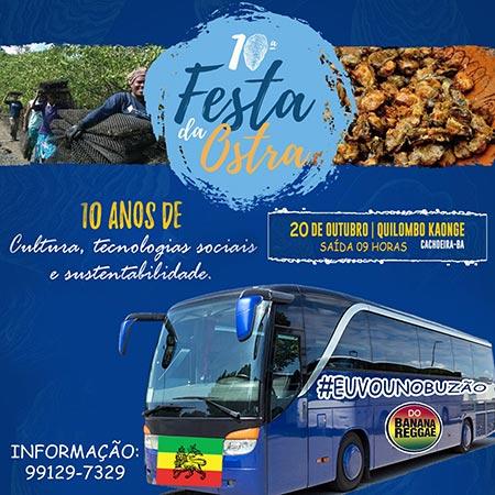 Festa da Ostra, Kaonge, Bahia