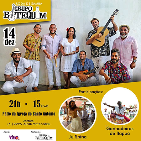Samba in Salvador, Bahia, Brazil: Dec. 14, 2018